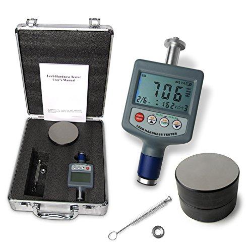 Metal Hardness Testers : Digital rebound leeb metal hardness tester gauge