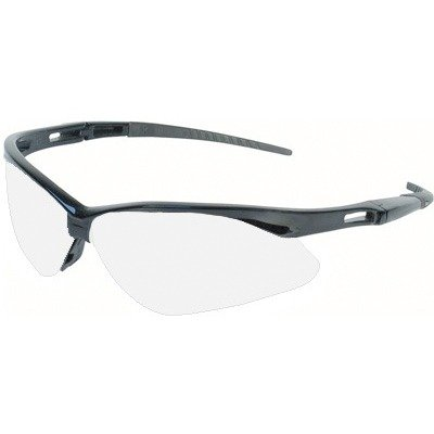 589e579b632 ... Jackson 3000355 KC 25679 Nemesis Safety Glasses Black Frame Clear Lens  Anti Fog