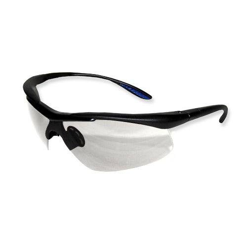 e8fefe33352 ProWorks EW-C200C Comfort Safety Eyewear Clear Lens Black Frame Conforms to ANSI  Z87 1 pair
