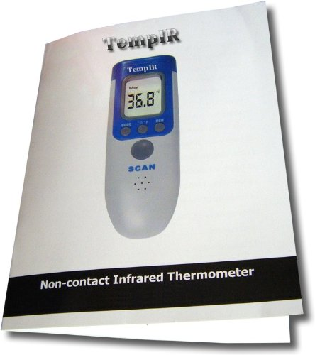 tempir temporal body temperature thermometer infrared for. Black Bedroom Furniture Sets. Home Design Ideas