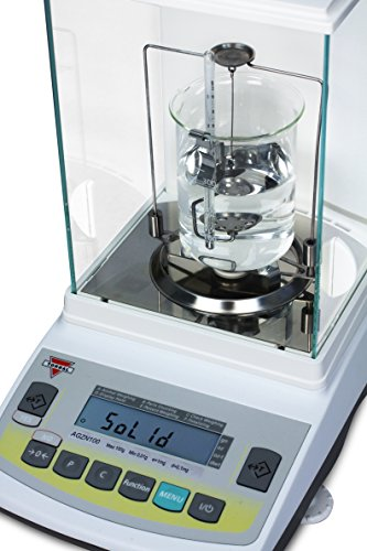 Torbal AGZN120 Analytical Balance,120g x 0 0001g ( 1mg Readability), Robust  Die-Cast Metal Housing, Electromagnetic Load-cell, Large LCD Display